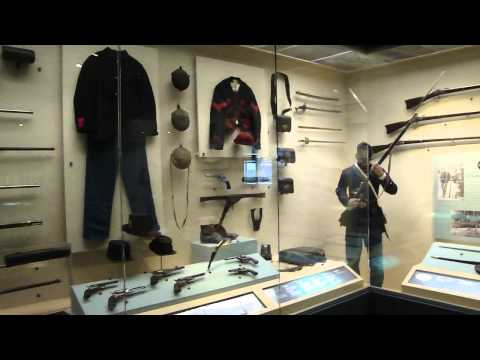 Smithsonian Institute National Civil War Museum Slavery and Army exhibits Harrisburg PA
