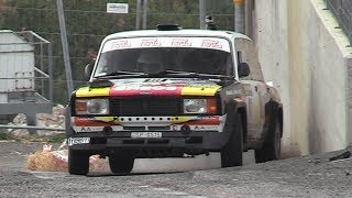 Lada's on fire at Rally Legend!! - Always Sideways, Show & Jumps (Lada VFTS, 2101 & 2107)