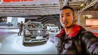 Khám phá xe TQ giá rẻ GAC GS8 tại Paris Motorshow 2018 chỉ $22 ngàn USD |XEHAY.VN|