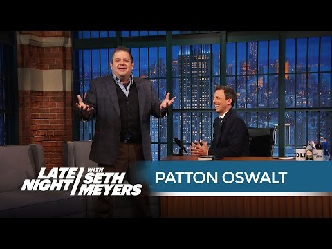 Patton Oswalt's Worst Bombing Story - Late Night with Seth Meyers