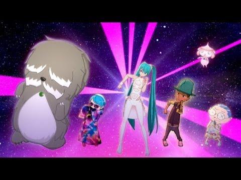 Livetune & Hatsune Miku Last Night, Good Night (Pharrell Williams Remix) retronew