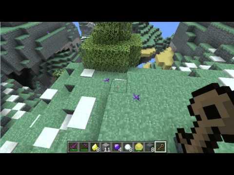 Minecraft MOD: Como hacer un portal al cielo (Review) Mod Aether 1.0 (Versión Antigua)