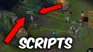 1 Bronze Scripter vs 3 Gold Players (1v3) INSANE GAME - League of Legends