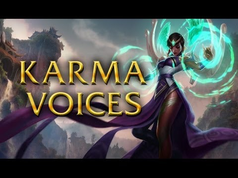 LoL Voices - Karma - All 16 languages
