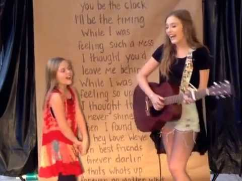Lennon and Maisy Cover -That s What s Up
