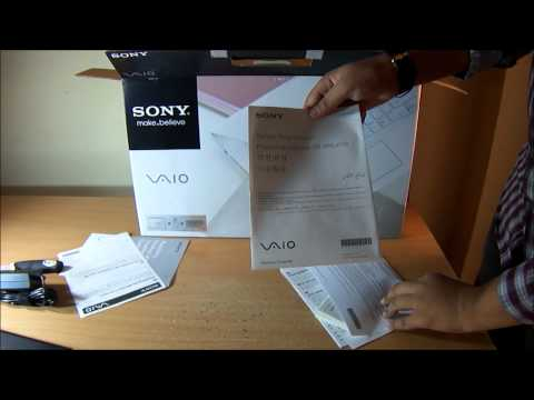 Sony Vaio E14A Series SVE14A15FNB Laptop + Bluetooth Laser Mouse + Laptop Bag Unboxing