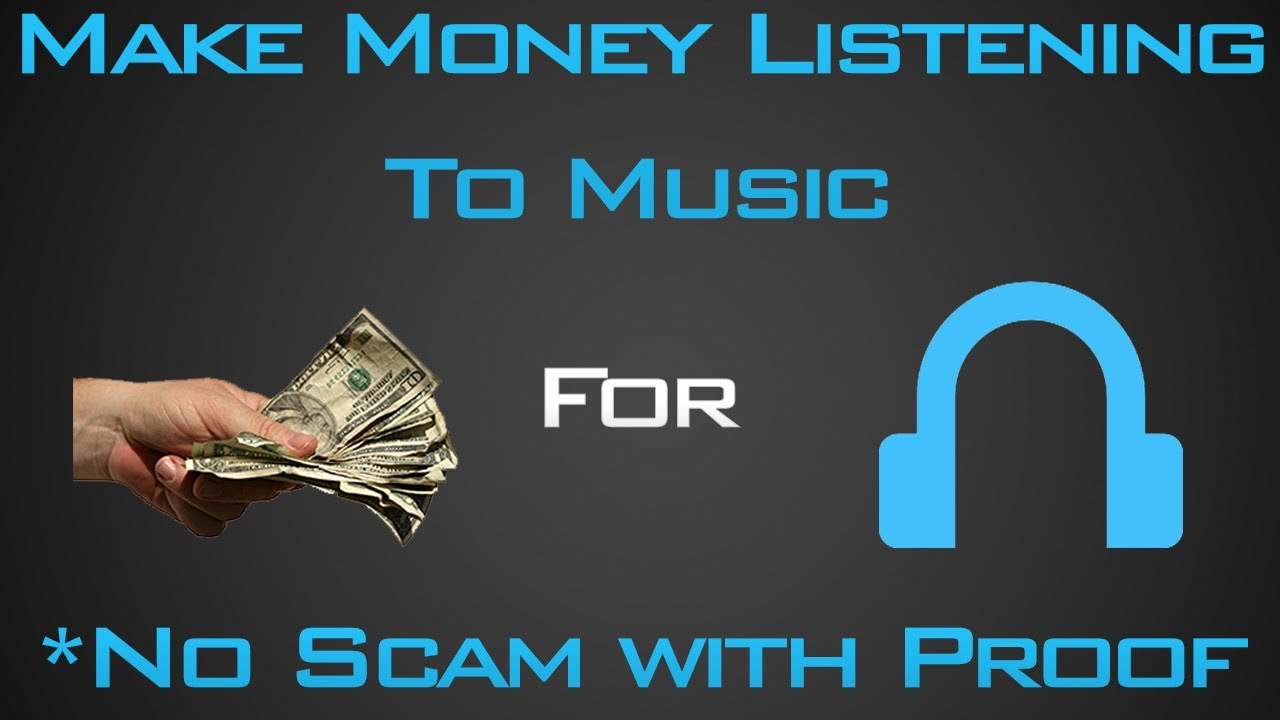 how to make money off youtube with music