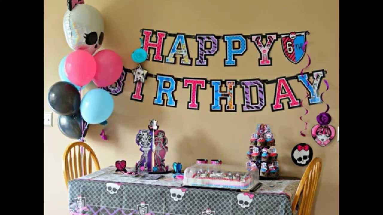 День рождения для подростка своими руками 74