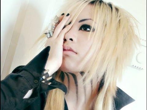 Basic Visual Kei Hair And Make Up Tutorial Ruki Inspired