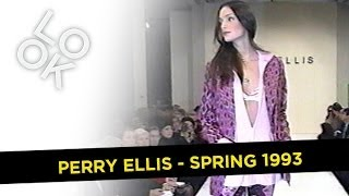 Perry Ellis Spring 1993: Fashion Flashback