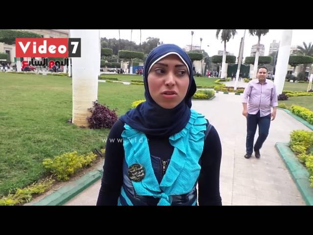 """بالفيديو . . حملة مجندة مصرية: """"سنتعامل مع نساء الإخوان فى تظاهرات 28 بكل حسم"""""""