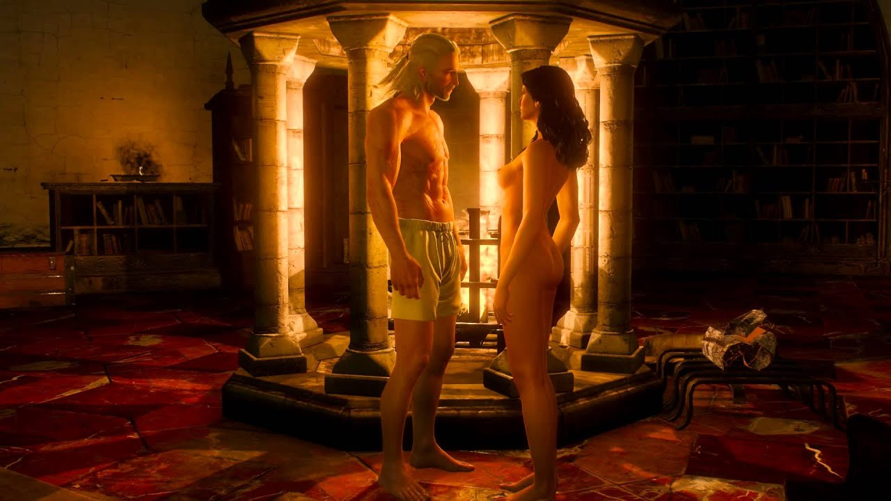 Witcher sex scene erotic gallery