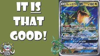 Rayquaza-GX Really IS That Good! (New GX Pokémon)