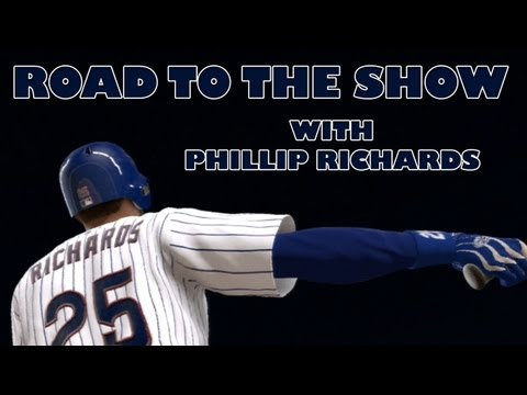 MLB 13 Road to the Show - Phillip Richards - Everyday Starting SS? [Ep12]