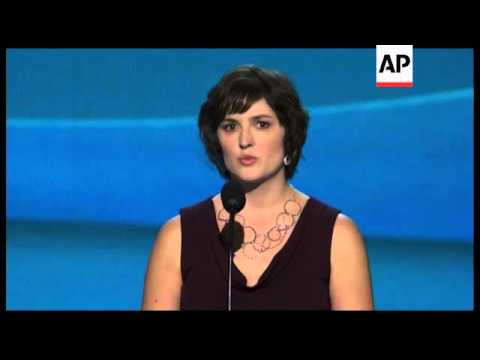 Attorney and women's rights activist Sandra Fluke is sounding dire warnings at the Democratic Nation