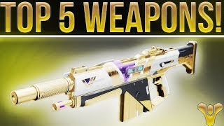 Destiny 2. TOP 5 WEAPONS! (PvE And PvP)