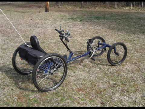 The Deltoyd - A LWB Quadcycle