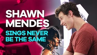 Download Lagu Shawn Mendes absolutely nails Never Be The Same by Camila Cabello Gratis STAFABAND