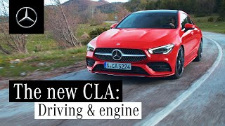 The New Mercedes-Benz CLA (2019): Driving & Engines