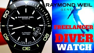 (4K) RAYMOND WEIL FREELANCER DIVER MEN