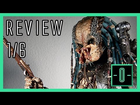Hot Toys Elder Predator 2.0 1/6 review MMS233