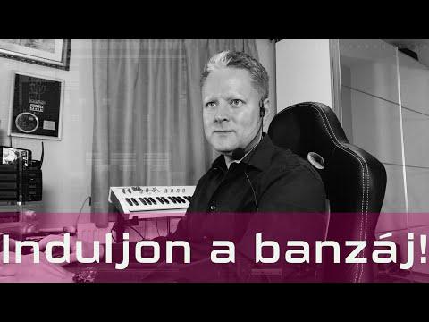 Hauber Zsolt újra játssza: Induljon a banzáj!