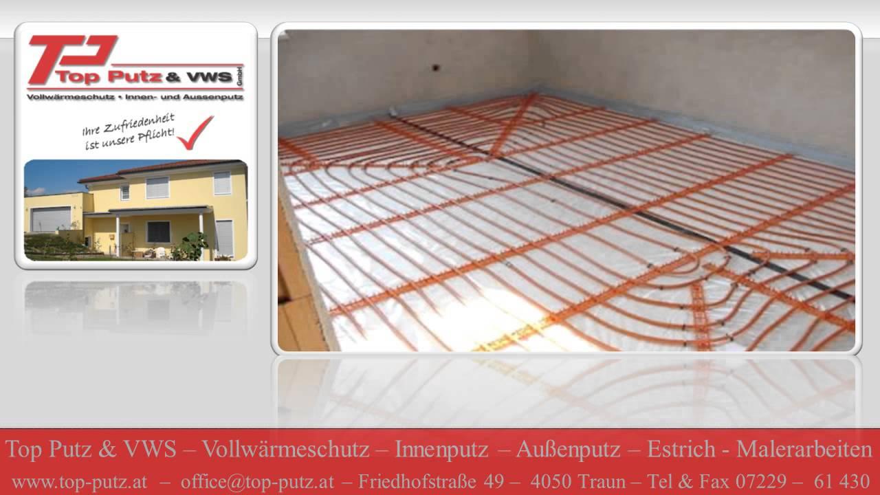 estrich verlegung estrich legen baufirma linz estrichleger verputzfirma linz. Black Bedroom Furniture Sets. Home Design Ideas