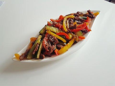 ТЁПЛЫЙ САЛАТ🥗 Тайский Салат/Мясной Салат/Очень Вкусно