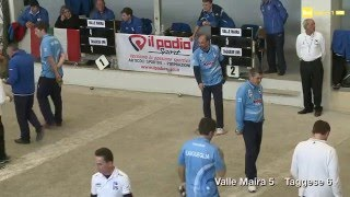 Petanque - Serie A - Finale 2016 - Valle Maira - Taggese - Sintesi RaiSport