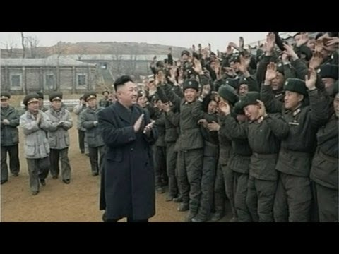 Kim Jong-Un on 'frontline' as North Korea threatens nuclear strike