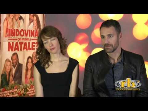 Cristiana Capotondi e Raoul Bova, intervista, Indovina chi viene a Natale?, RB Casting