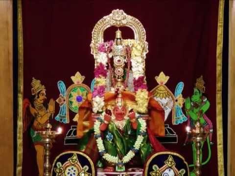 Sanskrit Hymn On Lord Venkateswara (kshetra Tirumala) - sri Venkateswara Mahathmyam (veda Vyasa) video