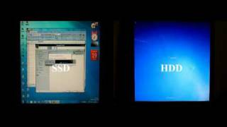 2x OCZ Vertex Raid0 vs 2xSeagate 7200.11 Raid0 Windows 7