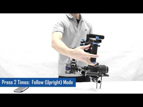 Lensman-pro 3 Axis Dslr Brushless Gimbal (for Handheld  Djis800  1000) video