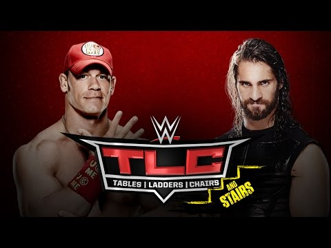 John Cena Vs. Seth Rollins (tables Match)  - Wwe Tlc - Wwe 2k15 Simulation video