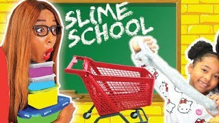 SLIME SCHOOL Sortie Scolaire, Verity vs la MAÎTRESSE - New Toy School