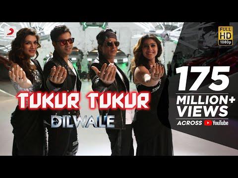 Tukur Tukur - Dilwale   Shah Rukh Khan   Kajol   Varun   Kriti   Official New Song Video 2015