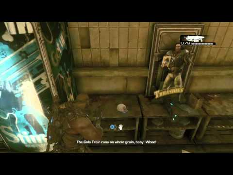 Gears of War 3 - Cole Train Baseball Cap Easter Egg