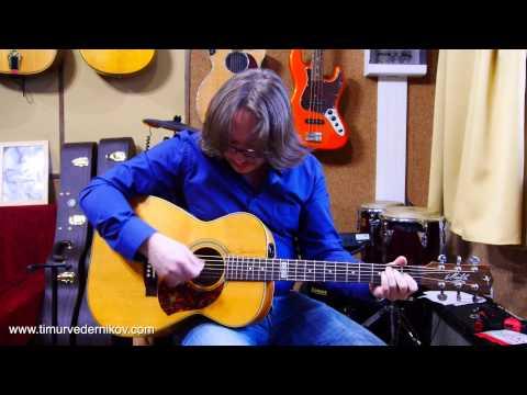 Тимур Ведерников  Как правильно и быстро поменять струны на гитаре