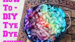 How To| DIY Tye Dye Shirt