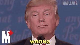 Donald Trump's egregious lies: a brief selection