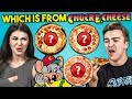 Guess Which Pizza Is A Chuck E. Cheese Pizza Challenge | Peop...