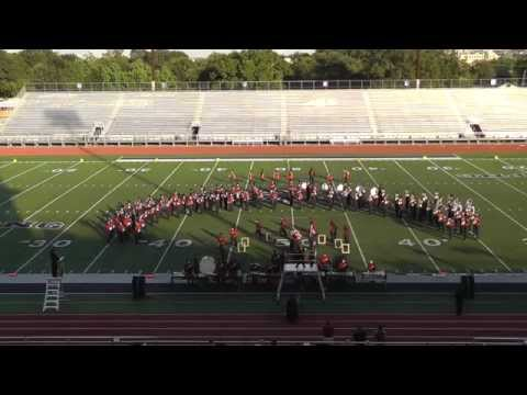 Baytown Goose Creek Memorial High School Band 2014 - UIL Region 10 Marching Contest