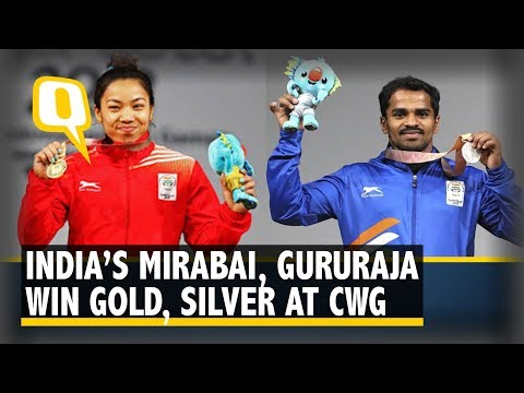 CWG 2018 Day 1: Weightlifters Mirabai, Gururaja Provide India A Perfect Lift Off | The Quint
