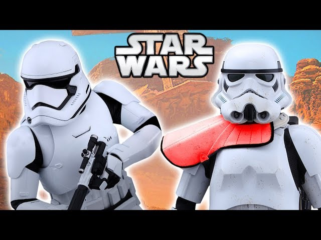 How the First Order Improved Imperial Stormtroopers - Star Wars Explained