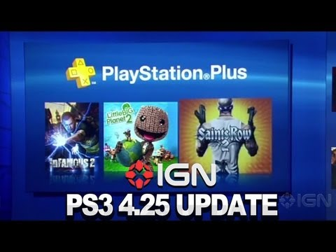 IGN News - PS3 Update 4.25 Brings A Gig of Cloud Storage