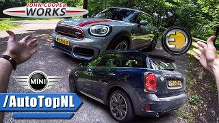 Mini Countryman 2017 JCW 231HP & 224HP Cooper S Hybrid REVIEW POV Test Drive by AutoTopNL