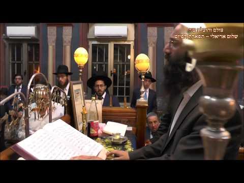 תפילת ערבית החזן שלמה נחמיאס בביהכנ''ס עדס מוצש''ק שופטים תשע''ח