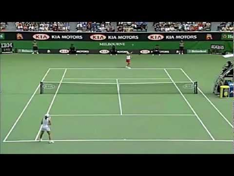 Martina Hingis v. Monica Seles | 2002 Australian Open Highlights