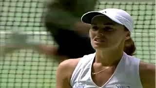 Martina Hingis v. Monica Seles | 2002 Australian Open Highlights